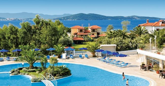 Петзвездна ваканция в Alexandros Palace Hotel & Suites 5* на Атон, 3 нощувки със закуски и вечери