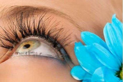 Удължаване и сгъстяване на мигли косъм по косъм от коприна само за 27.80 лв. или Плоски мигли за 37.80 лв. от Vintage Dolls
