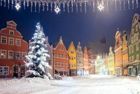 Коледна феерия! Залцбург - Мюнхен - Нюрнберг - Прага: Транспорт + ТРИ нощувки със закуски в хотели 3* + Пешеходни разходки в Залцбург, Мюнхен и Нюрнберг и Прага на цени от 469 лв. на Човек