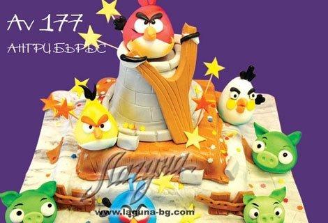 Светът е 3D, рожденият ден на детето ви също с 3D детска торта на 3 етажа със захарни фигурки от само за 41 лв. от Виенс
