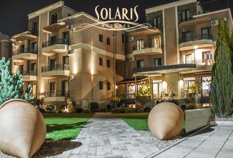 СПА уикенд във Върнячка Баня - екскурзия с автобус! Транспорт + 1 нощувка със закуска и ВЕЧЕРЯ в хотел  Solaris Resort 4