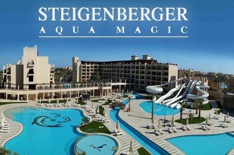 ЕКЗОТИКА и ЛУКС! Египет, хотел Steigenberger Aquamagic 5*: Чартърен Полет с трансфери + 7 нощувки на база ALL INCLUSIVE