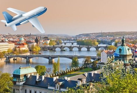 3-ти Март в Прага! Самолетен билет за полет на Bulgaria air + 3 нощувки със закуски в хотел