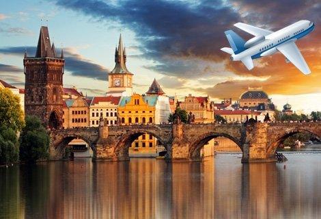 3-ти март в ПРАГА! Самолетен билет за полет България Ер + 4 нощувки със закуски в хотел Taurus 4* в центъра + Пешеходна