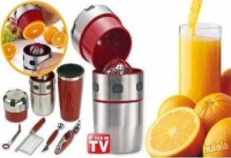 Кога за последно пихте прясно изцеден сок? Сега това може да стане ежедневие с Pro V Juicer само за 14.90 лв.