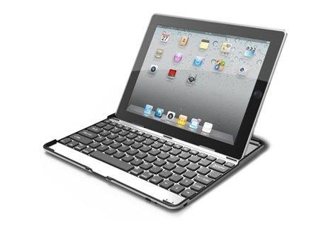По-удобно, по-стилно, по-лесно! Алуминиев кейс за вашият iPad 2 или 3 с вградена безжична Bluetooth клавиатура на специа