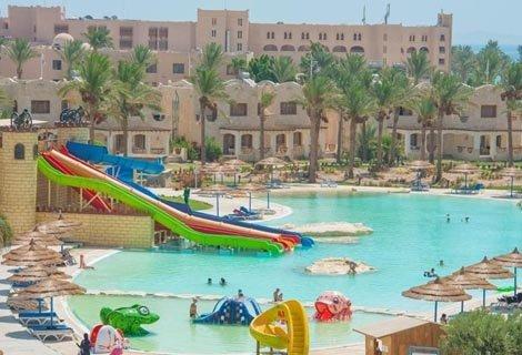 ХИТ ЦЕНА! Египет, ROYAL LAGOONS AQUA PARK RESORT HURGHADA 5 *: Чартърен Полет с трансфери + 7 нощувки на база ALL INCLUS