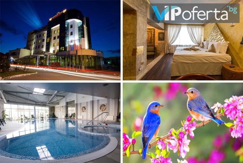 Двудневен пакет със закуски + празнична и BBQ вечеря + СПА в DIPLOMAT PLAZA Hotel & Resort****