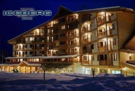 БОРОВЕЦ, хотел АЙСБЕРГ 4*: Нощувка със закуска и Вечеря САМО за 39 лв. на ЧОВЕК + WELLNES пакет с басейн + Билярд и Тени