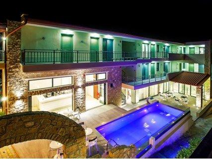ЛЯТО в ГЪРЦИЯ, ХАЛКИДИКИ, хотел Core Resorts Hotel 3*: 5 нощувки със закуски и Вечери 427 лв на Човек