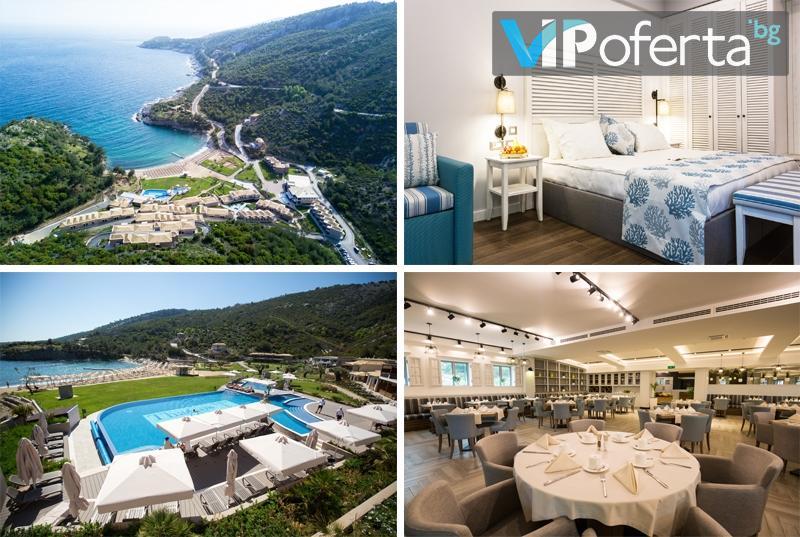 Еднодневен пакет за двама със закуска + ползване на отопляем външен басейн в Thassos Grand Resort*****, Тасос