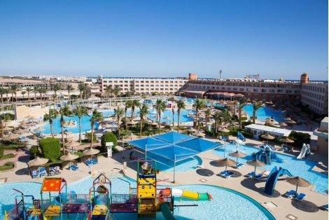 VIP почивка в Египет, Titanic Resort 5* с АКВАПАРК: Чартърен Полет с трансфери + 7 нощувки на база ALL INCLUSIVE на цени