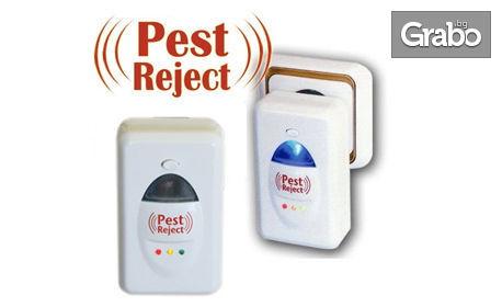 Ултразвуков уред против гризачи и насекоми Pest Reject - модел 2016г
