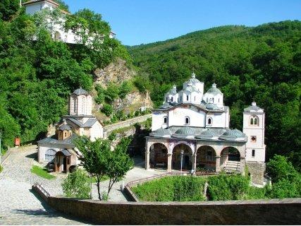 """Еднодневна екскурзия до Осоговския манастир, Крива Паланка и Парк """"Гиновци! Транспорт с автобус + Туристическа програма"""