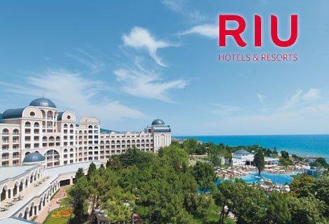 ЦЯЛО Лято в Слънчев Бряг, хотел РИУ Хелиос Парадайз 4*: Нощувка на база ALL INCLUCIVE на цена от 61 лв. на Човек!