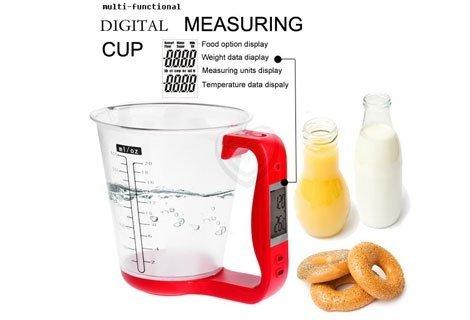 Вземете това малко бижу за вашата кухня- многофункционална измервателна  кана с LCD дисплей на цена от 9.90 лв.