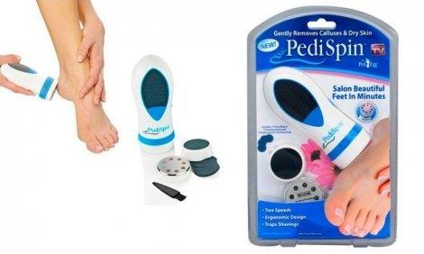 Спа мобилно устройство - Pedi Spin за да покажеш красивите си крачка пред всички само за 7.70 лв.