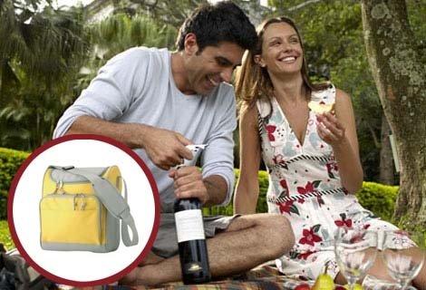 Супер Свежарска Хладилна Чанта с Цип в четири цвята за плаж или пикник от Агенция Star Advertising на свежа цена от 18 лв.