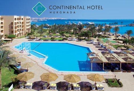 ПЕРЛИТЕ на Египет: Чартърен Полет с трансфери +  1 нощувка в КАЙРО в хотел Mercure Cairo Le Sphinx 5* + 6 нощувки ALL INCLUSIVE в хотел  Continental Hurghada Resort 5* + Екскурзия до Кайро и Пирамидите само за 1186 лв. на ЧОВЕК