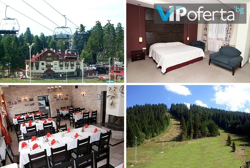Двудневен пакет със закуски, вечери и ползване басейн и Релакс зона в Хотел Ледени Ангели, Боровец