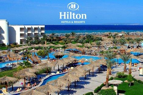 Египет, хотел HILTON HURGHADA LONG BEACH RESORT 4*: Чартърен Полет с трансфери + 7 нощувки на база ALL INCLUSIVE на цени