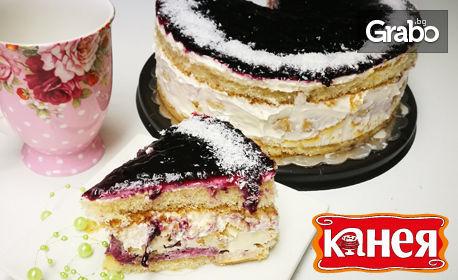 Торта по избор - еклерова или бисквитена