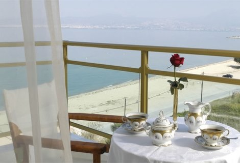 Гърция, АГИЯ ТРИАДА, HOTEL SANTA BEACH 4*: 3 нощувки със закуски и ВЕЧЕРИ на цени от 227 лв. на ЧОВЕК (76 лв./ден/човек)
