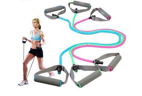 Знаете ли, че с това въже можете да направите повече от 50 упражнения на цялото тяло? На цена само за 5.99 лв.