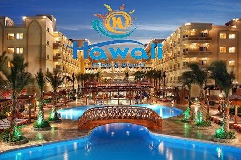Египет, HAWAII RIVIERA AQUA PARK RESORT 5*: Чартърен Полет с трансфери + 7 нощувки на база ALL INCLUSIVE само за 820 лв.
