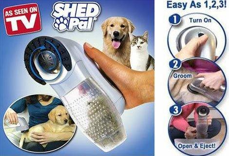 Играйте на воля с домашните си любимци и нека Shed Pal се справя с козината сега на цена от 5.99 лв.