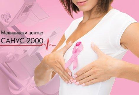 Ехомамография (ехография на млечни жлези, разчитане + снимка) + Изследване на костна плътност САМО за 17.20 лв. от Медиц