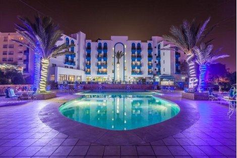 ПОЧИВКА в Мароко: Самолетен билет + 7 нощувки със Закуски и Вечери в хотел Oasis Hotel & Spa 4* само за 1048 лв. на Чове