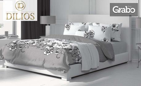 Спален комплект от памучен сатен, размер и десен по избор