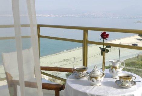 Гърция, АГИЯ ТРИАДА, HOTEL SANTA BEACH 4*: 3 нощувки със закуски и ВЕЧЕРИ на цени от 165 лв. на ЧОВЕК (55 лв./ден/човек)