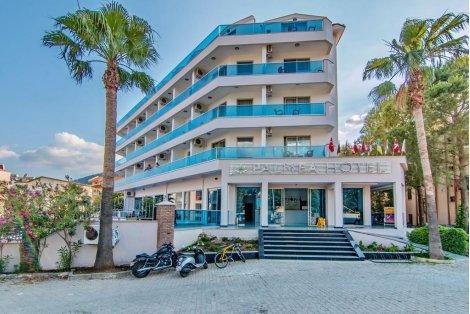 Лято в Мармарис, хотел PALMEA HOTEL 4*: Автобусен транспорт + 7 нощувки ALL INCLUSIVE на цени от 490 лв. на ЧОВЕК