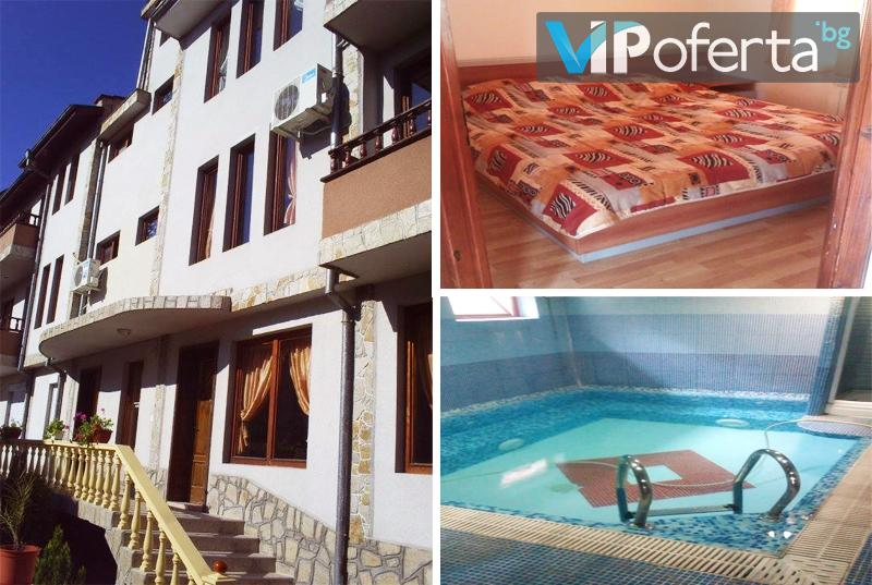 Eднодневен пакет със закуска + вътрешен басейн, сауна, парна баня в Хотел Медея, Велинград