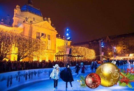 НОВА ГОДИНА в Хърватия, ЗАГРЕБ! Транспорт с автобус + 3 нощувки със закуски и 2 вечери в хотел 3* + Новогодишна Гала веч