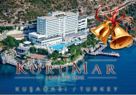 Петзвездна Нова Година в ТУРЦИЯ, Кушадасъ, хотел KORUMAR 5*! 4 нощувки на база All Inclusive + Новогодишна Гала Вечеря С