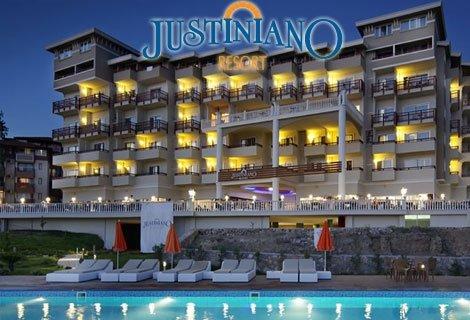 Нова година 2019 в ТУРЦИЯ, АНТАЛИЯ! Чартърен полет + 3 нощувки All Inclusive в хотел JUSTINIANO DELUXE RESORT 5*  на цен
