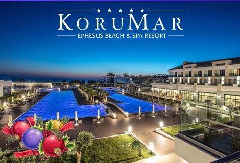 Нова година 2019 в КУШАДАСЪ! Автобусен транспорт + 4 нощувки на база Ultra All inclusive в хотел KORUMAR EPHESUS BEACH &