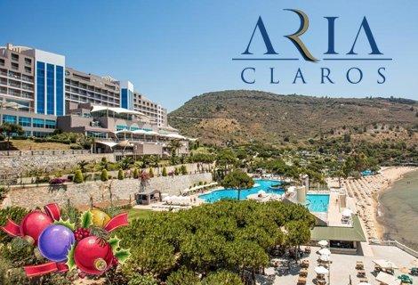 Нова година 2019 в КУШАДАСЪ! Автобусен транспорт + 4 нощувки на база All Inclusive в хотел ARIA CLAROS BEACH & SPA RESOR