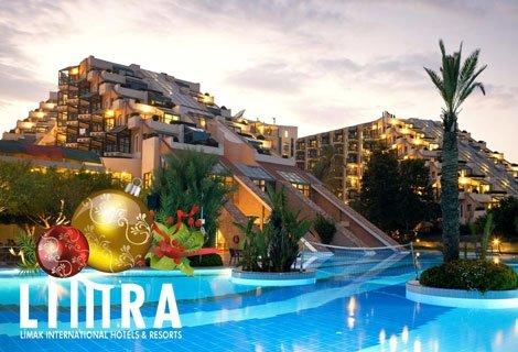 Нова година 2019 в Кемер, АНТАЛИЯ! Чартърен полет + 3 нощувки на база Ultra All Inclusive в хотел LIMAK LIMRA HOTEL & RE