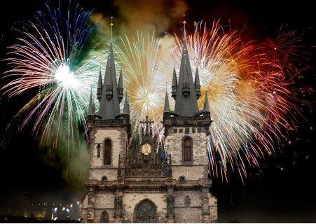 НОВА ГОДИНА в ПРАГА със САМОЛЕТ! 4 нощувки със закуски в хотел International Prague 4* + Новогодишна ВЕЧЕРЯ + Пешеходна