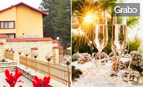 Нова година край Велико Търново! 3 нощувки със закуски и вечери - една празнична, в с. Вонеща вода