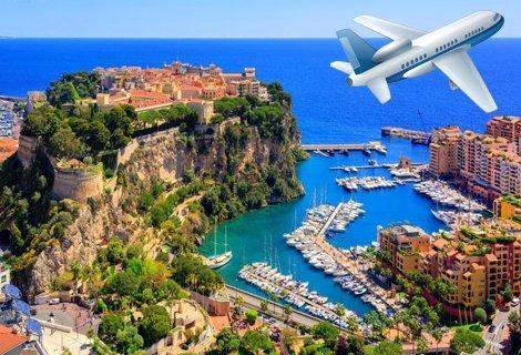 НОВО през 2019 г.! Френска РИВИЕРА, Самолетен билет + 3 нощувки със закуски в хотел Galaxie 3* + 6 Екскурзии до Ница, Мо
