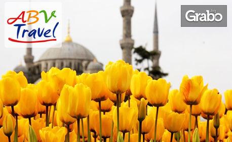 Посети Фестивала на лалетата в Истанбул! 2 нощувки със закуски, плюс транспорт и посещение на Одрин и Чорлу