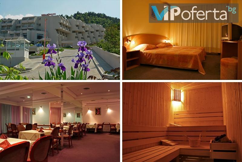 Еднодневен със закуски за двама или трима души + БОНУС йонна детоксикация и сауна в СПА Хотел Панорама, Сандански