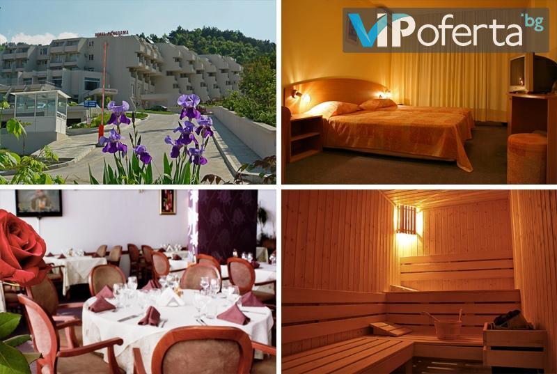 Еднодневен пакет за двама или трима със закуски + арома вана в СПА Хотел Панорама, Сандански