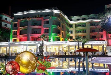 НОВА ГОДИНА в Дуръс, Албания: 3 нощувки със закуски + 3 Вечери, вкл. Новогодишна гала вечеря с програма в хотел Fafa Pre