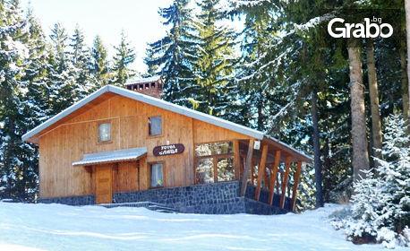 Ранни записвания за ски почивка в Пампорово! Нощувка във вила с камина за до 10 човека, плюс джакузи и сауна